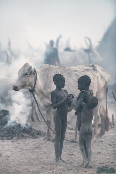 Little boy herders