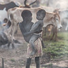 Dinka children
