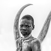 Framed by the Ankoli Watusi horns, Terekeka