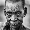 Mundari elder woman, Terekeka
