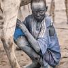 Milking the Ankole Watusi
