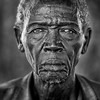 Portrait of an old mundari man, Terekeka