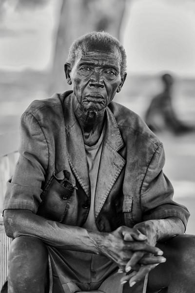Old Mundari man, Terekeka