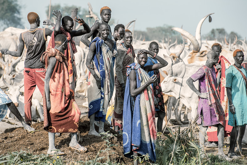 Men of the Dinka