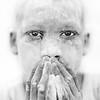 Mundari ashen faced boy