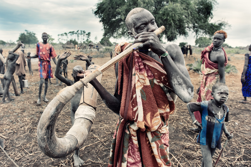 Mundari music through the horn