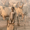 Little Mundari tribes boy