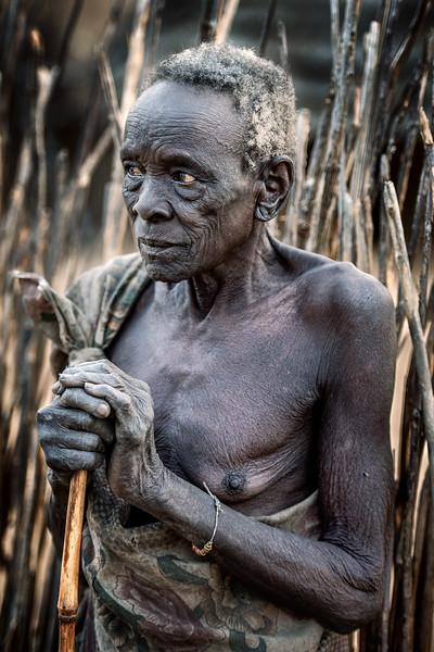 Elderly Boya woman