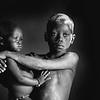 Children of the Mundari tribe