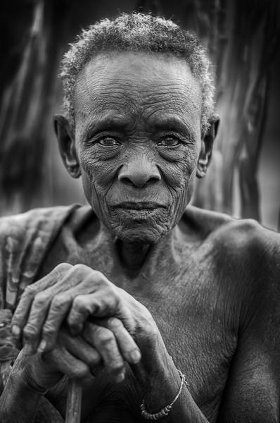 Old Boya matriarch, Camp 15