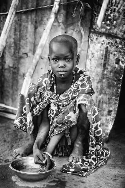 Child beauty of the Boya