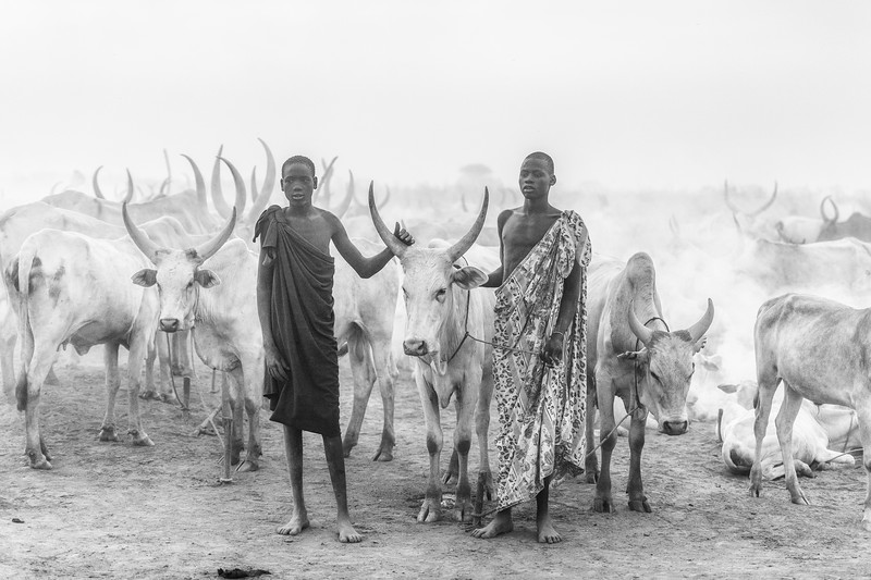 Mundari life on the Nile