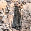 Mundari boy in camp