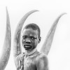 Framed Mundari boy