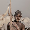 Mundari boy and his bull