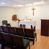 A view of the chapel located inside the new Tribunal location. (Photo by Adrean Indolos / NTC)