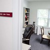 A view of Very Rev. Anh Tran's office. He is the Judicial Vicar of the Tribunal. (Photo by Adrean Indolos / NTC)