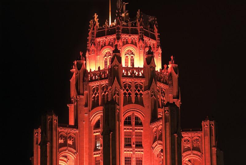 Trib Tower Crown at Night