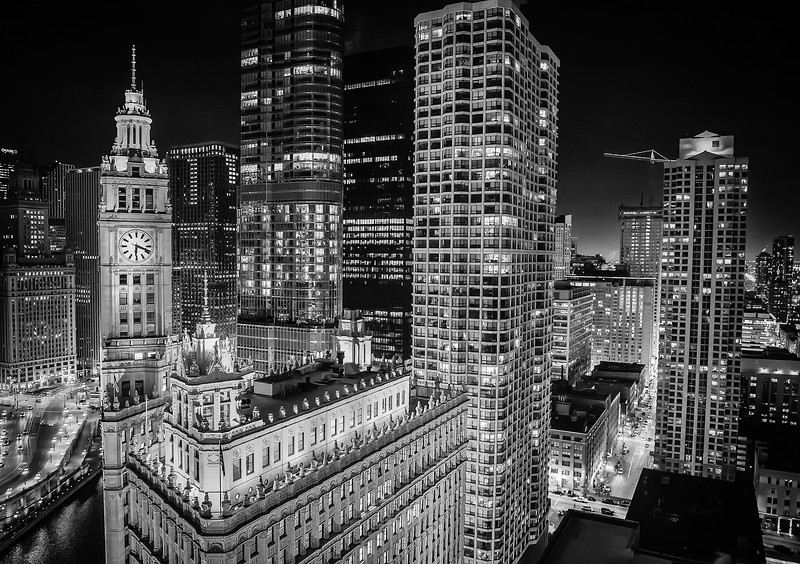 Wrigley Building Horizontal 3273