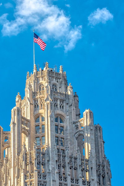 Trib Tower & Old Glory - Take 2 (Closer)