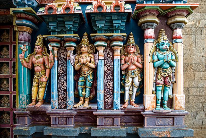 Srirangam Temple deities