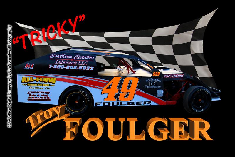 """""""Tricky"""" Troy Foulger #49"""