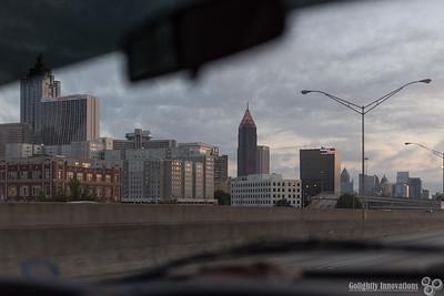 Atlanta GA Skyline - Early AM