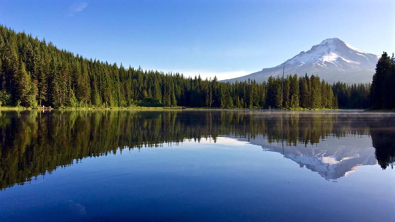 Trillium Lake Reflections