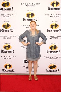 Trina Turk + Mr. Turk - Incredibles II Premiere - Los Angeles