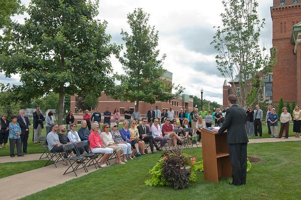 John McBride Tree Dedication