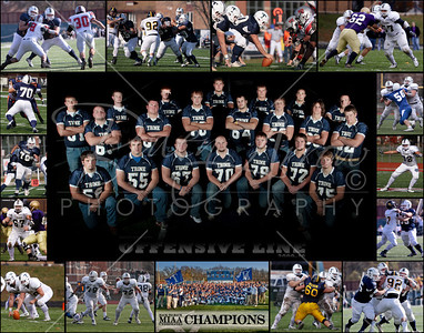 O-Line Collage 11 x 14