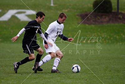 M Soccer vs Adrian 100309-1