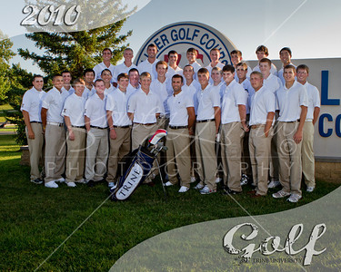Golf (M) Team Photo 2010-0004-2