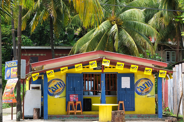 Bar at Maracas Beach, Trinidad
