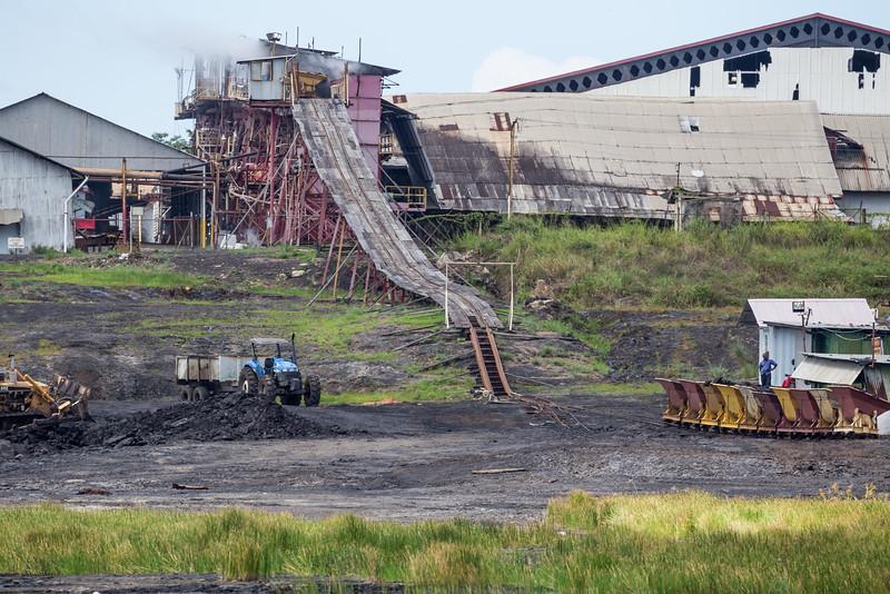 Mining Pitch, Pitch Lake