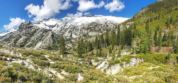 Trinity Alps Thompson Peak 9,002 ft.