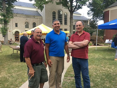 Festival Co-Chairmen, left to right:  David Dorian, Stephan Hovnanian and Jack Ekchian
