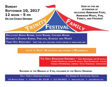 Trinity Family Festival, September 10, 2017