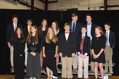 Middle School Awards 2015