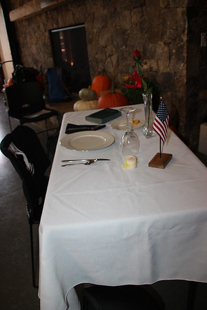 POW/MIA Table Setting