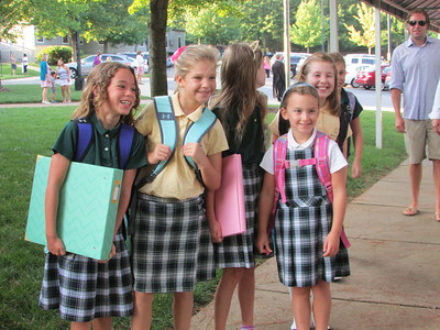 Lower School First Day of School