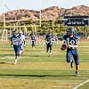 20131011 - during the Trinity v Desert Christian football game. Trinity won 48-0.
