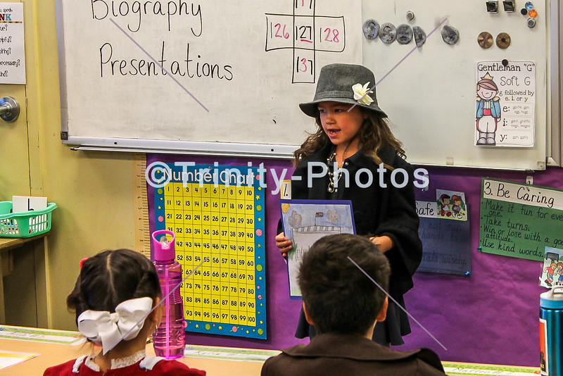20180328 - 1st Grade - American Biographies  1