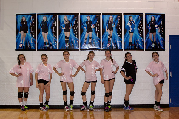 Senior Night/Dig Pink