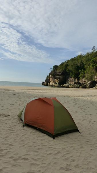 Camping on Telok Pandan Kecil