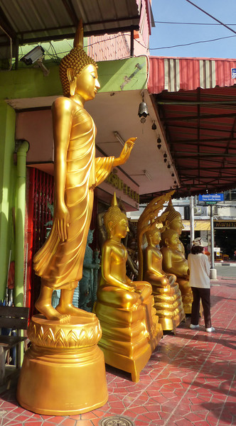 Giant Plastic Buddhas for Sale