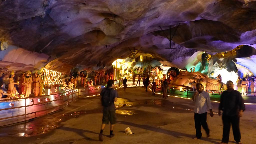 Inside Ramayana Cave