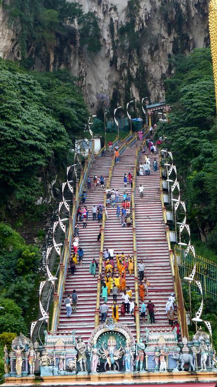Stairs Up To Batu Cave