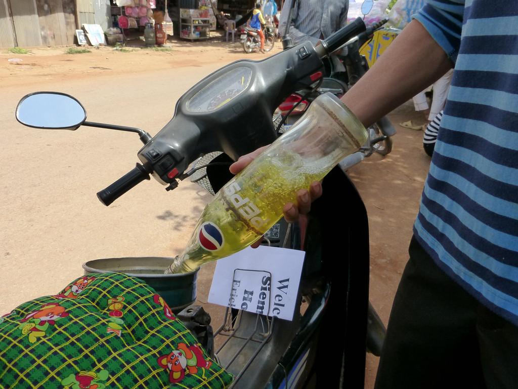 Getting Gas in Cambodia