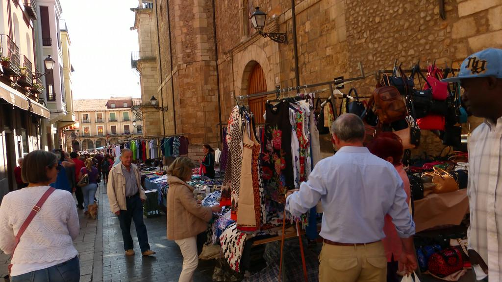 Street Market in Leon